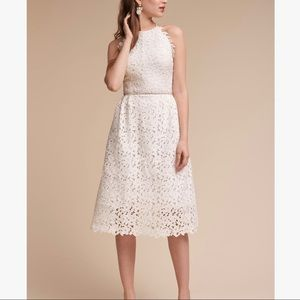 BHLDN James Dress by Hitherto in White